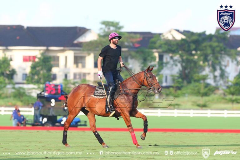 Polito Pieres, a player in Johor's team with a handicap 10. Source