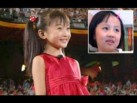 china lin miaoke yang peiyi olympics sing ode