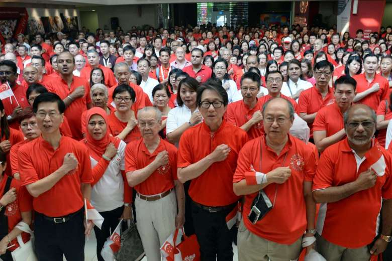 singapore national day ministers