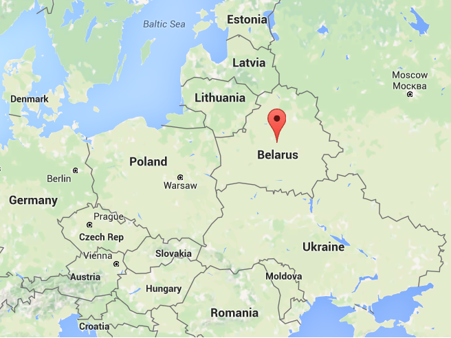 In case you're wondering where the tarnation Belarus is. Source