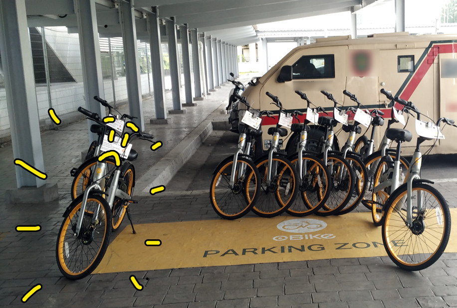 obike parking stations