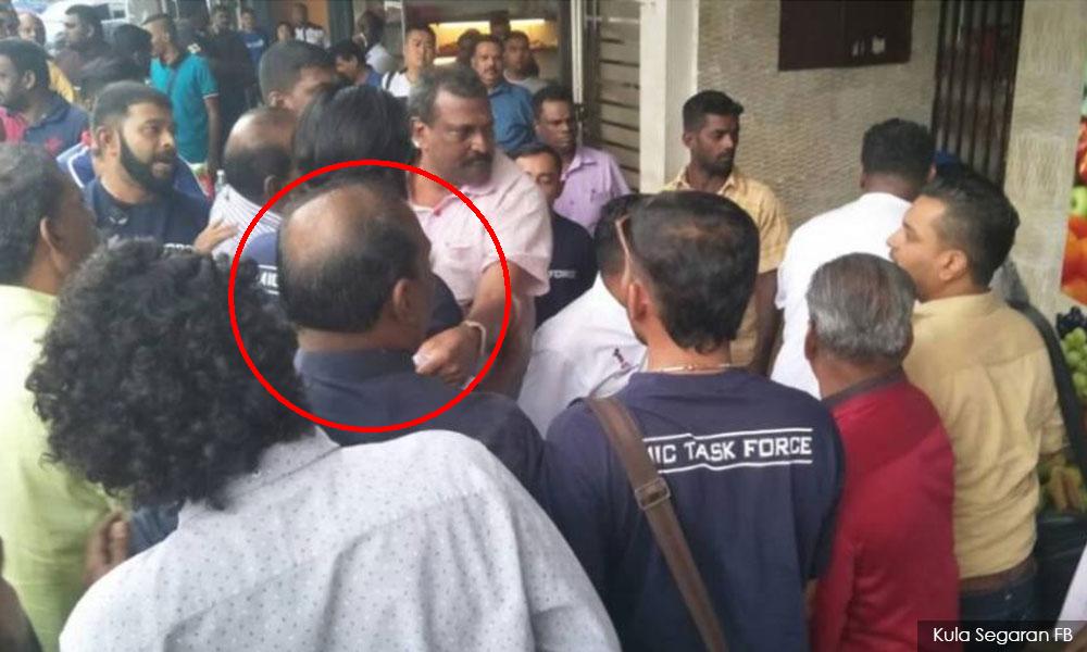 MIC saravanan tamil malar scuffle