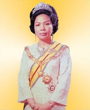 Almarhumah Tengku Ampuan Intan Zaharah, who passed away in 2015. Photo from Kuala Lumpur Post