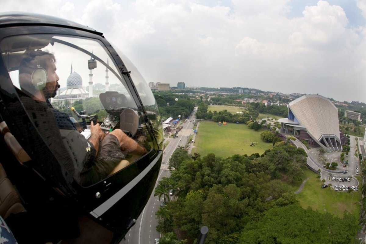 helicopter tour kl