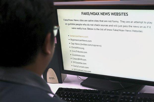 hoax fake websites internet
