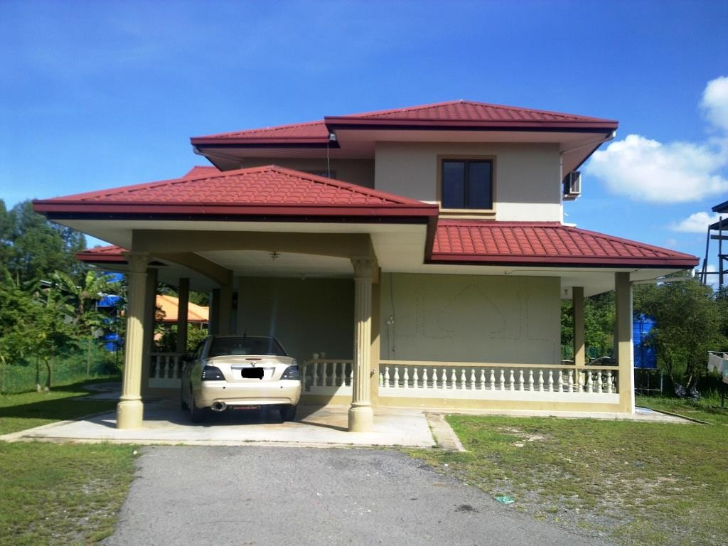 A bungalow house in Putatan district, Sabah. Photo from www.estate123.com.