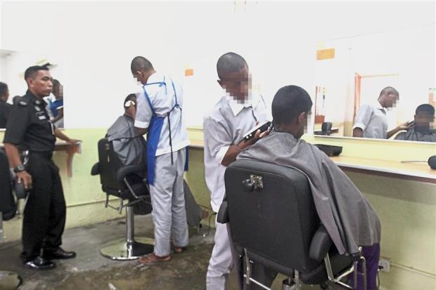 malaysia prison barbering skills