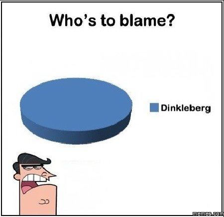 Dinkleburg. It's always Dinkleburg. Img from Memes.com.