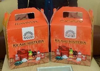 kit anti histeria universiti