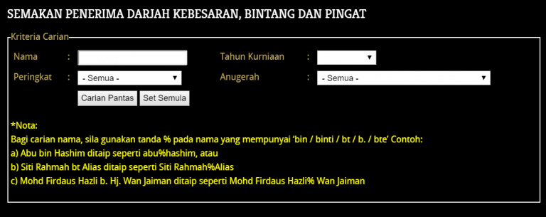 Click the image to expose some Datuks!