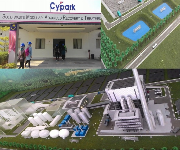 This Waste-to-Energy plant can take in 600 tonnes of waste a day! Photo from Nehap Malaysia