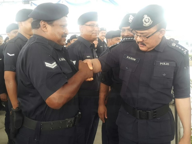 It's already being done in the police, btw. Img from SinarHarian.