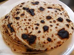 On the other hand, it took 5 to 7 minutes to burn a roti. Img from rajeevmathewthomas's WordPress.