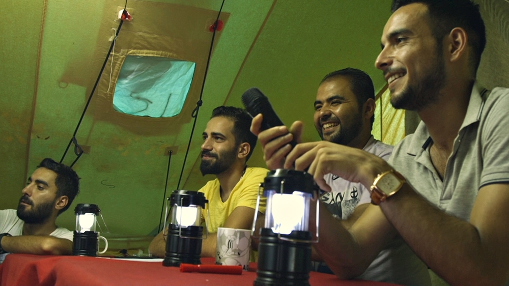 syrian refugees got talent greece camp
