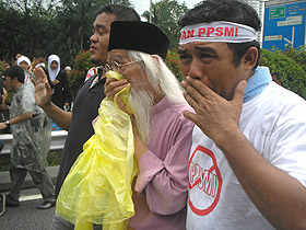 a samad said national laureate ppsmi dlp protest 2009