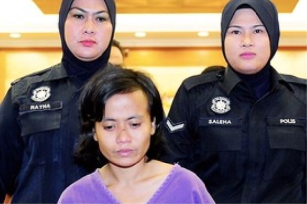 indonesian maid jailed for attempting murder