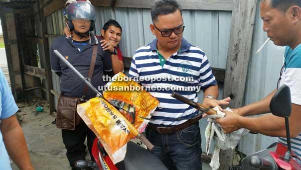 police arrest bakakuk homemade gun