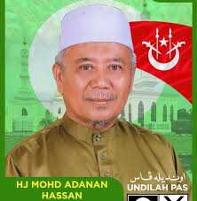 The candidate in Husna's constituency is a local, better known as Cikgu Nan. Image from N02Kelaboran's Facebook.
