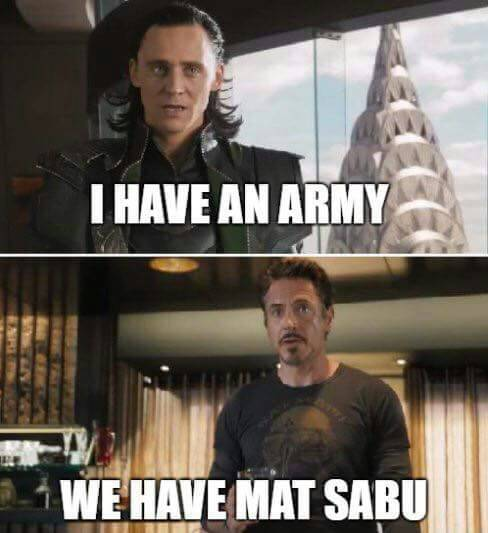 i have army loki we have mat sabu ironman