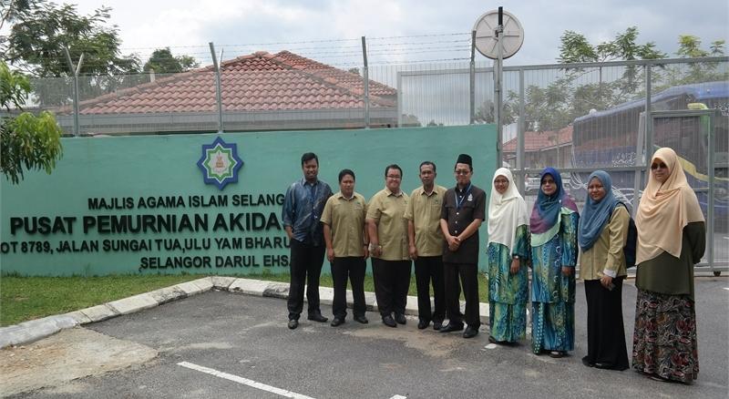 Officers from Institut Pemantapan dan Perkaderan Akidah Malaysia (IPHAM). Image from IPHAM.