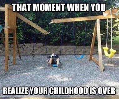 childhood adulthood meme