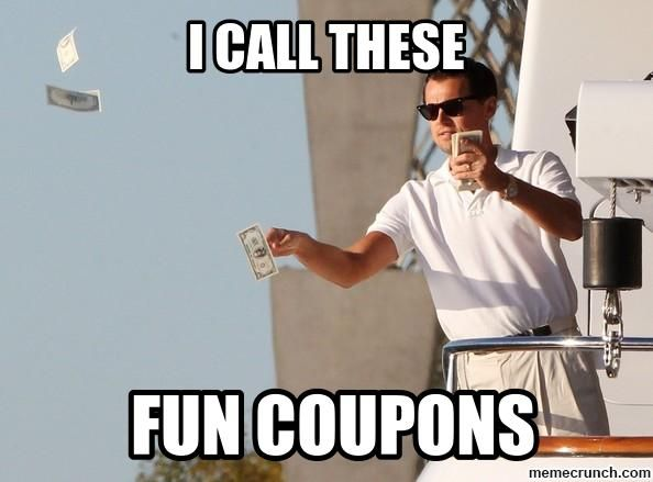 fun coupons wolf wall street dicaprio