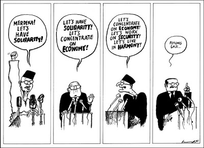Dato' Lat's cartoon, 1981