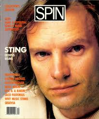 Nope, not this Sting. Image from Spin