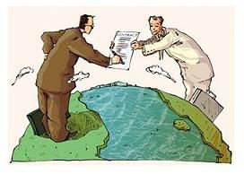 *not actual representation of the international treaties being signed. Image from Best Delegate