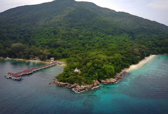 Pulau Bidong, today. Img from Astro Awani.