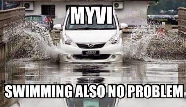 Myvi Flood