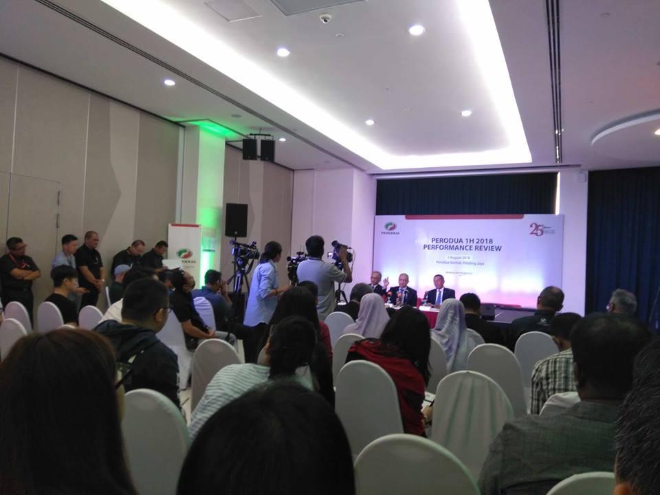 The Perodua Press Conference, Q&A session.