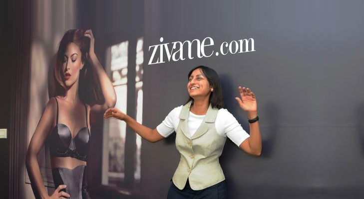 Zivame, the Indian lingerie company at the heart of the controversy. Image from Vocket