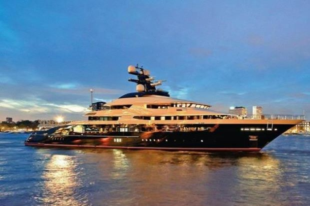 Now that's a big boat, could even say it's pretty bl-oated. Image from The Star