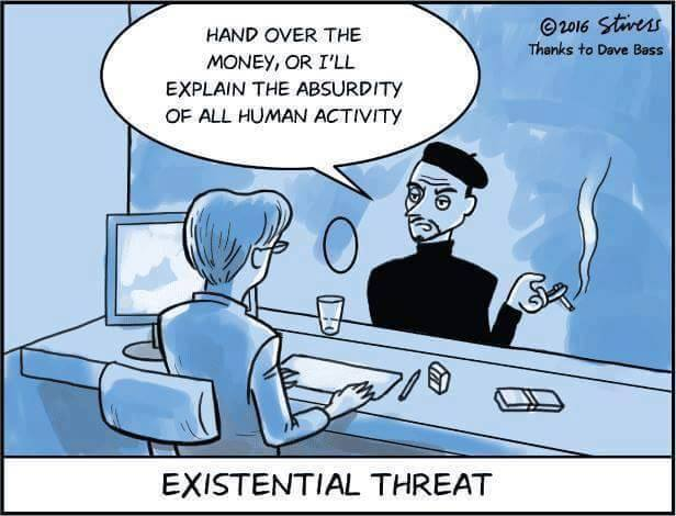 Uh, wrong existential threat. Image from Eric Gerlach