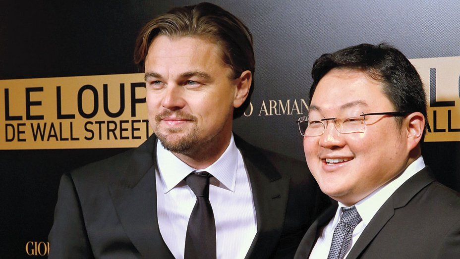 We can't be the only ones who think it's ironic he played a swindler in Wolf of Wall Street. Image from Hollywood Reporter
