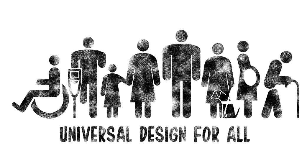 Universal Design makes things accessible for everyone - Image taken from Azari Mat Yasir's Facebook