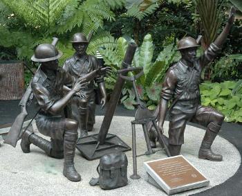 The Bukit Chandu Memorial in Pasir Panjang, Singapore. Image from: badassoftheweek.com