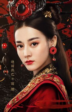 Dilraba Dilmurat, a popular Uighur actress. Despite the issues faced by her people in China, Uighurs are highly sought after in the entertainment industry for their exotic looks. Image from: Pinterest user Queen Haya
