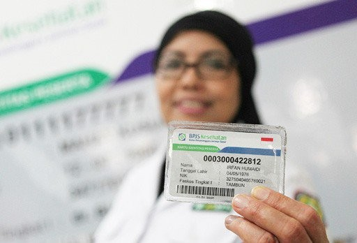 Indonesia's health insurance card. Image from Jakarta Post