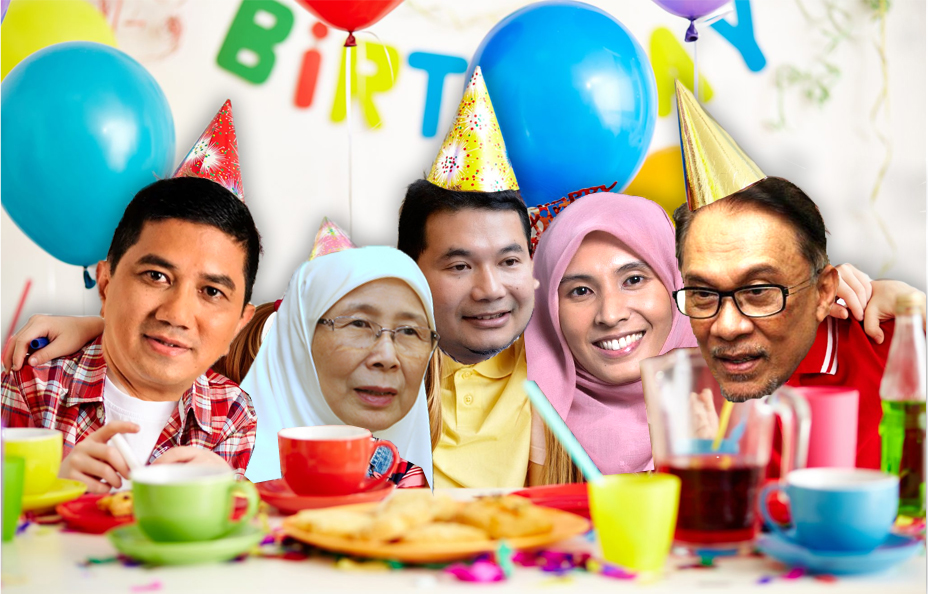 The PKR party. Yes, we spent too much time on this Photoshop for this bad joke. Unedited image from John Nike Leisuresport