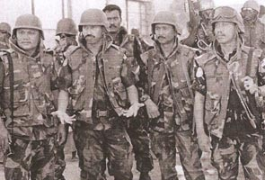 Archived photo of Malaysian soldiers in Somalia. Image from: Astro Awani
