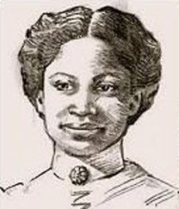 Artist's rendering of Mollie Smith. Image from: Under The Lone Star