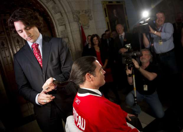 And they weren't kidding! Image from: National Post