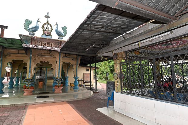 The USJ temple. Image from The Star.