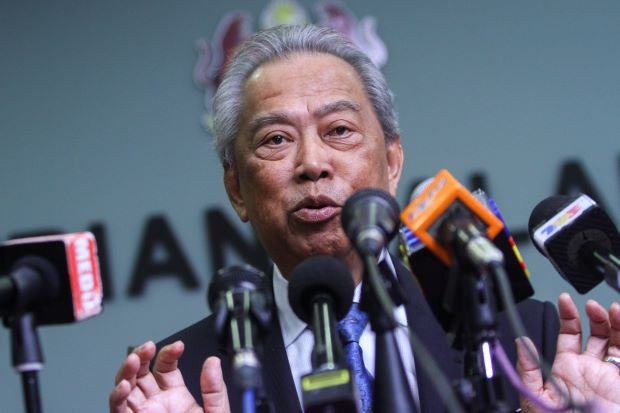 Muhyiddin, a Johorean, had appealed to the Sultan. Img from The Star.