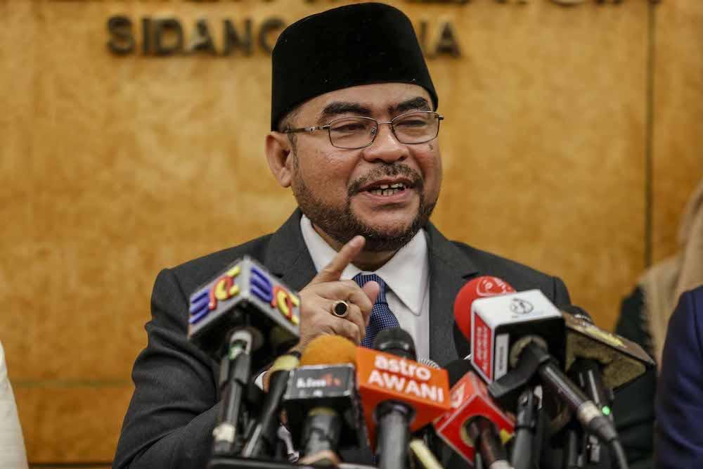 Datuk Seri Mujahid Yusof Rawa. Image from Malay Mail