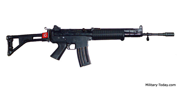 The soldiers were reportedly armed with Pindad SS1 assault rifles, standard issue for the Indonesian Army. Image from: Wikiwand