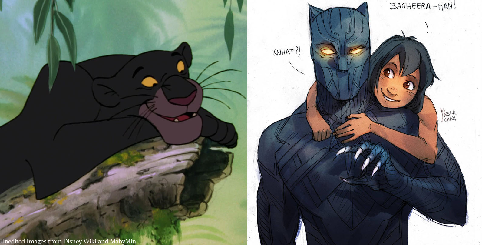 Ugaiz remember Bagheera the panther, right?