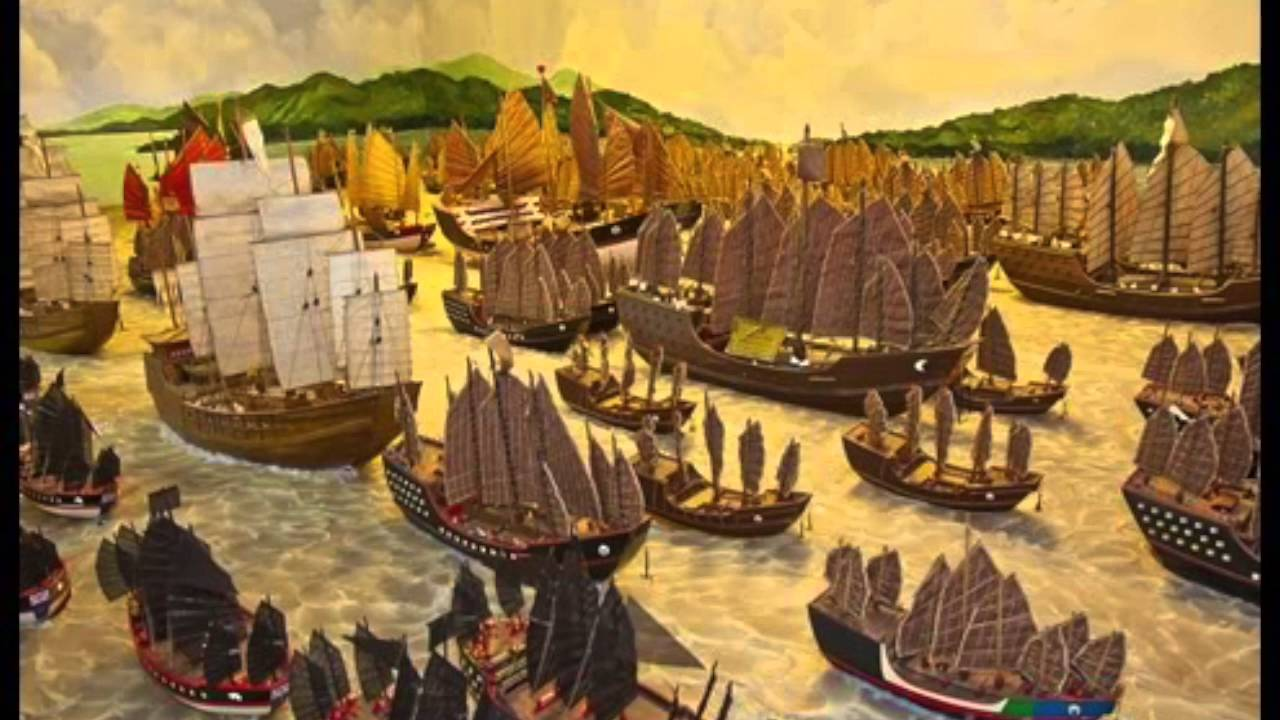 Whoa.. those Ming Dynasty ships! Image from Patrick Murfin.